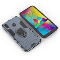 Capa Ring Armor Samsung Galaxy M10 - Azul - Hardcase