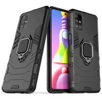 Capa Ring Armor Samsung Galaxy M51  Preto - Oem