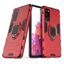 Capa Ring Armor Samsung Galaxy S20 FE  Vermelho - Oem