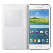 Capa S View Cover Original Samsung Galaxy S5 Mini Duos - Branco