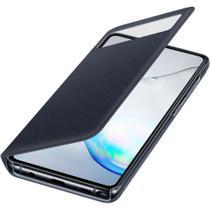 Capa S View Flip Wallet Note 10 Lite Original Samsung Preta -