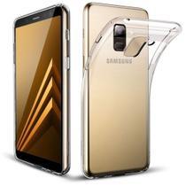 Capa Samsung Galaxy A8+ TPU Transparente - Diversos