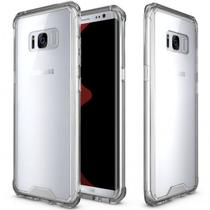 Capa Samsung Galaxy Note 8 Com Borda Anti Impacto Transparente