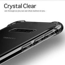 Capa Samsung Galaxy S10 Plus Case Anti Shock Antiqueda Transparente - Hrebos
