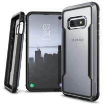 Capa Samsung Galaxy S10e Lite Tela 5.8 Anti-Impacto X-Doria Defense Shield Military Grade Drop Prata