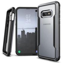 Capa Samsung Galaxy S10e Lite Tela 5.8 Anti-Impacto X-Doria Defense Shield Military Grade Drop Prata -