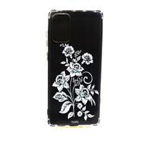 capa Samsung Galaxy S20 Plus 6.7' cristal estillo anti impacto feminina ramo flores -