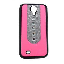 Capa Samsung Galaxy S4 Pc Shine Pedras Rosa - Idea
