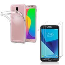 Capa Samsung J5 Pro Silicone Slim Casca de Ovo + Película - Hrebos