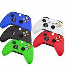 Capa Silicone Para Xbox 360 Cor Azul -
