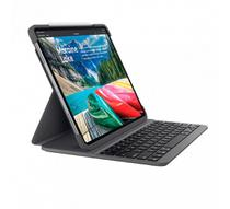 Capa Slim Folio C/ Teclado Iluminado P/ iPad Pro 11 - Logitech