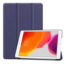 Capa Smart iPad 7 Geração Case 10.2 A2197 A2200 A2198 Azul marinho - Fam