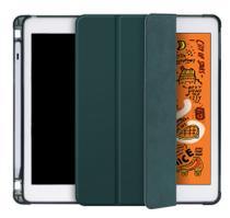 Capa Smartcase para New Ipad 10.2 (7ª geração ) - Com Suporte para Pencil - Verde Escuro - Fly
