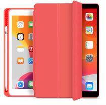 Capa Smartcase para New Ipad 10.2 (7ª geração ) - Com Suporte para Pencil - Vermelha - Fly