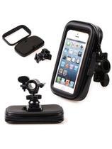 """Capa smartphone celular GPS moto bicicleta guidão 5,5 """" - Tomate"""