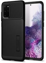 Capa Spigen Slim Armor Samsung Galaxy S20 Plus - ACS00647 - Preto -