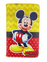 Capa Tablet Samsung Galaxy Tab A 8 T290 T295 Magnética Mickey Mouse - Fam