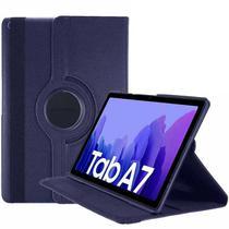 Capa Tablet Samsung Galaxy Tab A7 10.4 T500 T505 Giratória Executiva Rotação Azul Marinho - Fam