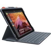 Capa Teclado Logitech iPad (5ª e 6ª Geração), Preta -