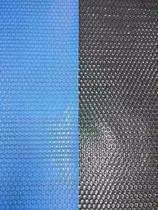 Capa Térmica Piscina 6,50 x 3,50 - 300 Micras - Blue/Black - Smart