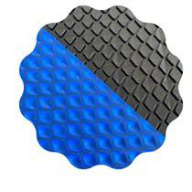 Capa Térmica Piscina 6x3 500 Micras Proteção Uv BLACK/BLUE - Não definido
