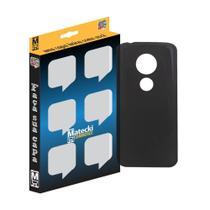 Capa TPU Grafite Motorola Moto G6 Play -