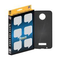 Capa TPU Grafite Motorola Moto Z3 Play -