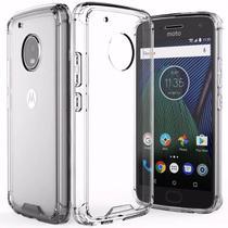 Capa Transparente Anti Impacto Motorola Moto G5 Plus Hrebos CT-MOTOG5PLUS -