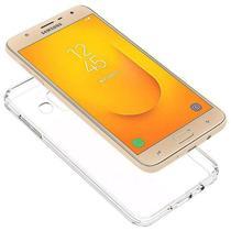 Capa Transparente Anti Impacto Samsung J7 Duo Hrebos CT-J7DUO -