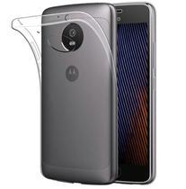 Capa transparente de silicone para Moto G5S PLUS - Maston