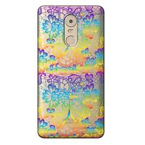 Capa Transparente Exclusiva para Lenovo Vibe k6 Plus Renda Colorida - TP285