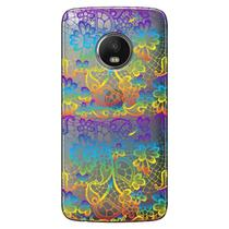 Capa Transparente Exclusiva para Motorola Moto G5 Plus Renda Colorida - TP285 - Lenovo