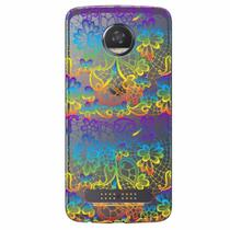 Capa Transparente Exclusiva para Motorola Moto Z2 Play Renda Colorida - TP285 - Lenovo