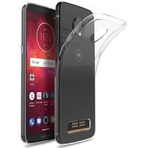 Capa Transparente Motorola Moto Z3 Play + Película Vidro - Maston