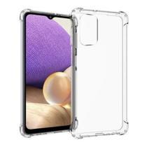 Capa Transparente + Pel Gel Tela p/ o Galaxy A32 5G SM-A326B - Exploiter