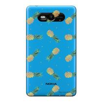Capa Transparente Personalizada para Nokia Lumia N820 Abacaxis - TP320 -