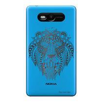 Capa Transparente Personalizada para Nokia Lumia N820 Leão - TP233 - Microsoft