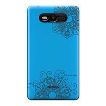 Capa Transparente Personalizada para Nokia Lumia N820 Mandala - TP255 -
