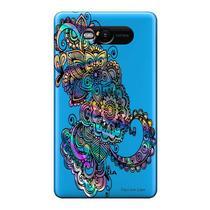 Capa Transparente Personalizada para Nokia Lumia N820 Mandala - TP257 -