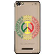 Capa Transparente Personalizada para Quantum You L - Peace - TP264 -