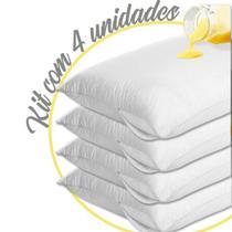 Capa Travesseiro Impermeável 4 Unidades - Vida Pratika