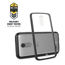 Capa Ultra slim Air Preta para LG K10 Pro - Gorila Shield -