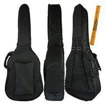 Capa Violão Clássico Extra Luxo Protection Bags + Acessórios -