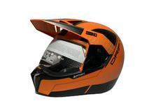 Capacete 3 sport drift laranja/preto 60 - Bieffe