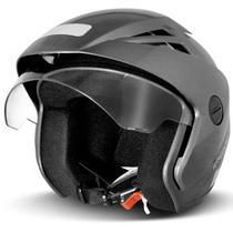 Capacete Aberto EBF Thunder Open Solid Chumbo Brilhante - Ebf capacetes