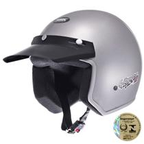 Capacete Aberto Liberty Two Em Abs Natural Pro Tork -