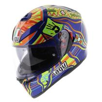 Capacete AGV K3 Five Continents Viseira Interna
