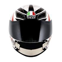 Capacete Agv K3 Rider To The Bone White