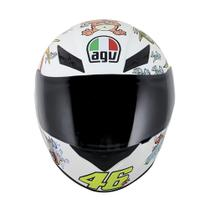 Capacete Agv K3 White Zoo Replica