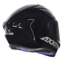 Capacete Axxis Draken Solid Gloss Black -